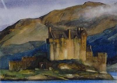 Eilean Donan Castle Art Print by Tony Northover