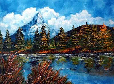 Karin Mueller Painting - Einzelkaempfer by Karin Mueller