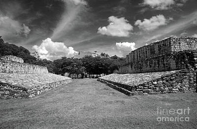 Photograph - Ek Balam Ball Court Yucatan Mexico by John  Mitchell