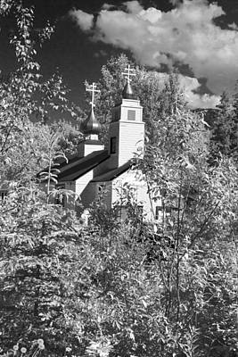 Photograph - Eklutna Church by Wes and Dotty Weber