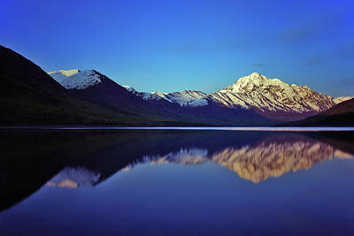 Photograph - Eklutna Reflections by Rick Berk