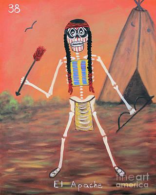 Painting - El Apache by Sonia Flores Ruiz