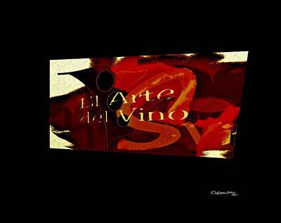 El Arte Del Vino Art Print by Xoanxo Cespon