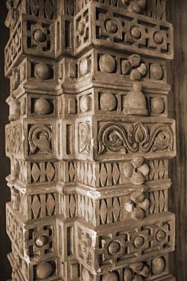 Photograph - El Baron's Column by Donna Corless