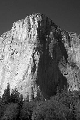Photograph - El Cap Face On by Eric Tressler