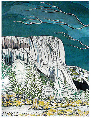 El Capitan Art Print by Alexandra  Sanders