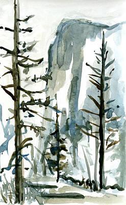El Capitan Art Print by Carol A Marcus