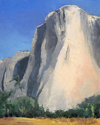 El Capitan Art Print by Jennifer Kane