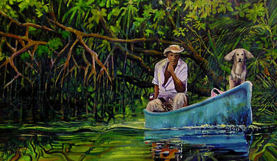 Painting - El Capitan by Michael Cranford