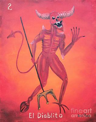 Painting - El Diablito by Sonia Flores Ruiz