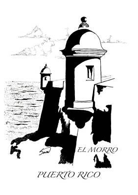 El Morro Digital Art - El Morro by Yiries Saad