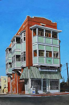 Elpaso Painting - El Paso - If Walls Could Talk - Si Las Paredes Hablaran by Maritza Jauregui Neely