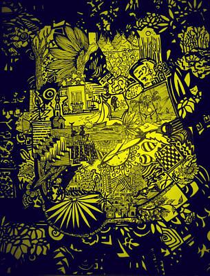 El Pescador Art Print by MikAn 'sArt