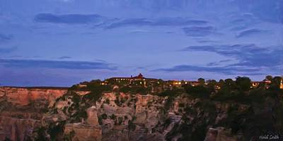 Photograph - El Tovar On The Grand Canyon Rim by Heidi Smith