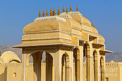 Elaborate Arch Structures In India Art Print by Inti St. Clair