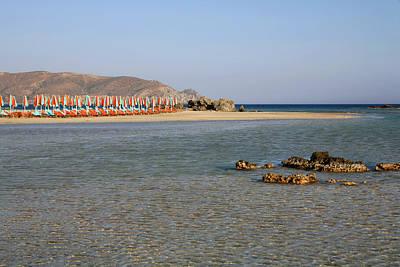 Photograph - Elafonissos Beach by Paul Cowan