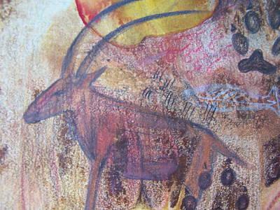 Colored Pencil Painting - Eland by Vijay Sharon Govender
