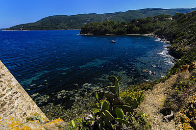 Photograph - Elba Island - The Path To The Beach - Ph Enrico Pelos by Enrico Pelos