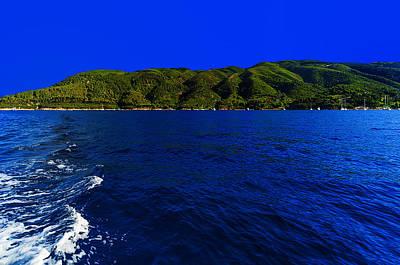 Photograph - Elba Island - Wave And Hill - Ph Enrico Pelos by Enrico Pelos