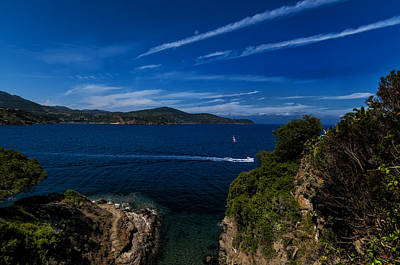 Photograph - Elba Island - Blue And Green 1 - Blu E Verde 1 - Ph Enrico Pelos by Enrico Pelos