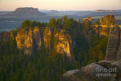 Heiko Koehrerwagner Photograph - Elbe Sandstone Highlands by Heiko Koehrer-Wagner
