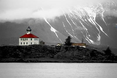 Digital Art - Eldred Rock Alaska by Carrie OBrien Sibley