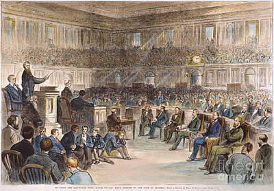 Electoral Commission, 1877 Art Print by Granger