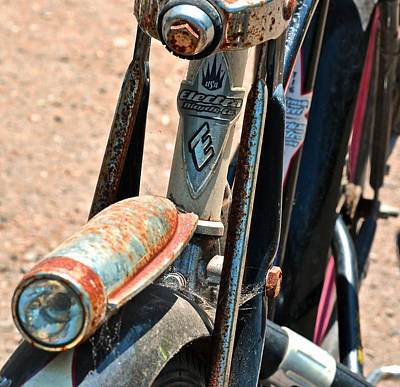Two Wheeler Photograph - Electra Bicycle II by Bill Owen