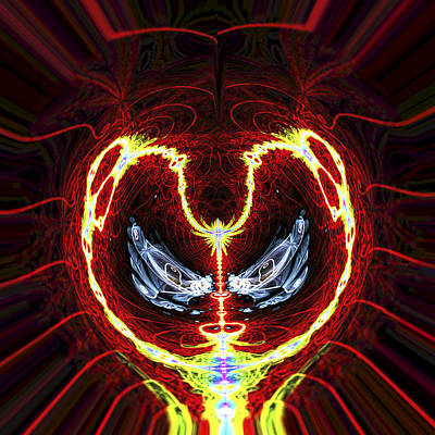 Digital Artwork Digital Art - Electric Charge by Twilight Vision