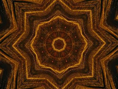 Digital Art - Electric Mandala 6 by Rhonda Barrett