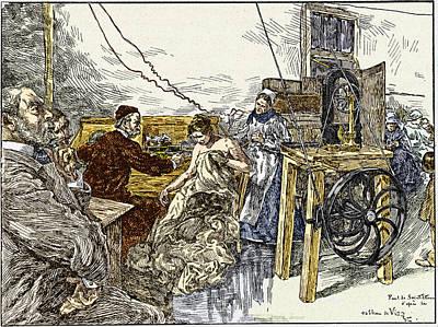 Electrotherapy, 1900 Art Print