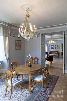 Upscale Photograph - Elegant Dining Room by Jaak Nilson