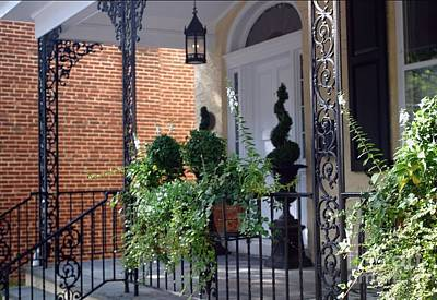Photograph - Elegant Entrance by Living Color Photography Lorraine Lynch