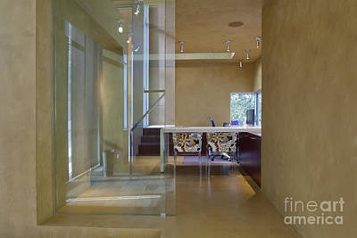 Elegant Hallway To A Home Office Art Print
