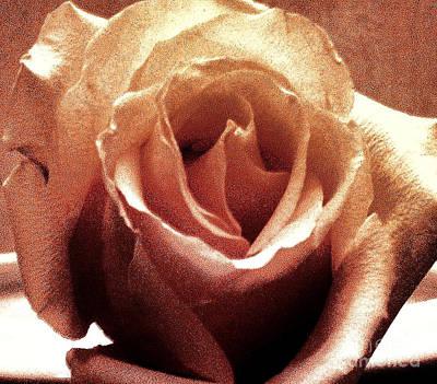 Wrap Digital Art - Elegant Rose by Marsha Heiken