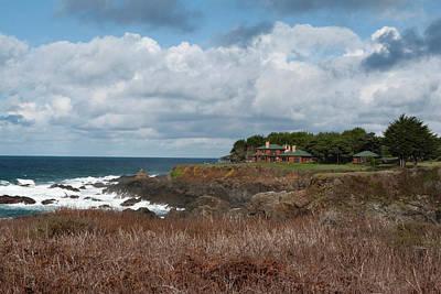 Photograph - Elegant Seaside Estate by Lorraine Devon Wilke