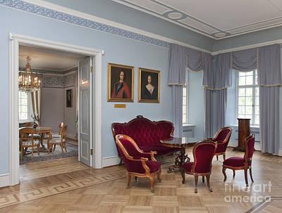 Elegant Seating In A Manor Art Print by Jaak Nilson