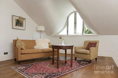 Elegant Sitting Room Art Print by Jaak Nilson
