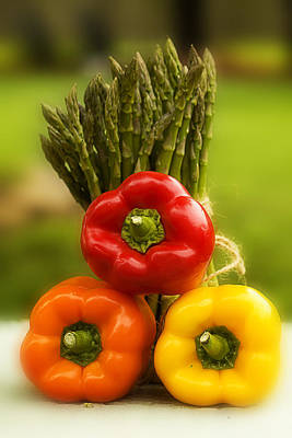 Photograph - Elegant Vegetables by Trudy Wilkerson