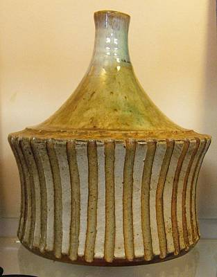 Elemental Pottery Bottle Original by Friedericks