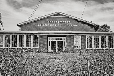 School Houses Photograph - Elementary School by Scott Pellegrin