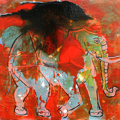 Elephante 3 Original by Scott Dykema
