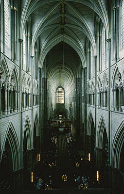 Elevated View Of The Nave Art Print by James P. Blair