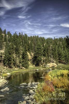 Photograph - Eleven Mile Canyon Colorado by David Waldrop