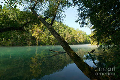 Eleven Point River Art Print by Chris Brewington Photography LLC