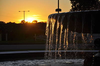 Photograph - Eli Kirk Price Memorial Fountain by Andrew Dinh