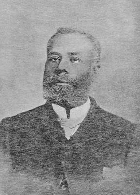 Elijah Mccoy, Canadian Inventor Print by Schomburg Center For Research In Black Culturenew York Public Library