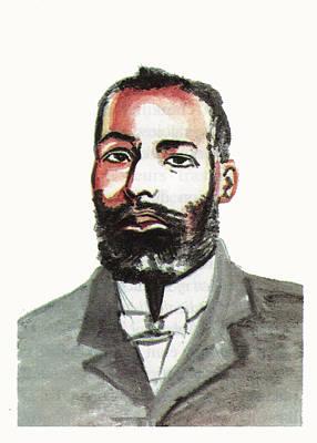 Elijah Mccoy Print by Emmanuel Baliyanga