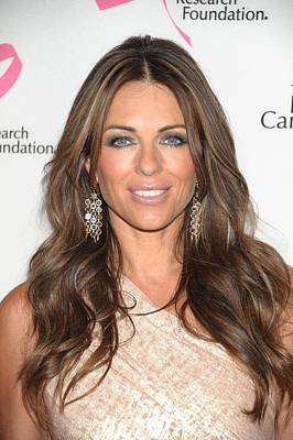 Tickled Pink Photograph - Elizabeth Hurley At Arrivals by Everett