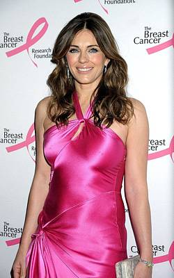 Elizabeth Hurley At Arrivals For Hot Art Print by Everett